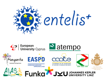 Picture with ENTELIS+ logo and logos of the 10 project partners